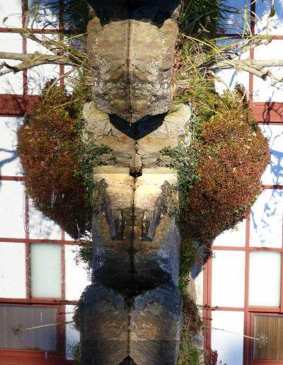 l'Île de Versailles photo Alice Guilbaud, galerie des figures et totems, l'ours