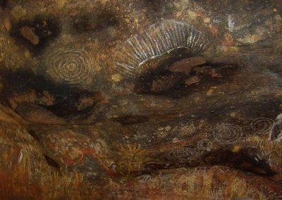 Uluru, motifs rupestres