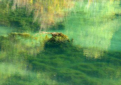 automne lac de Bethmale et ses lumières photo Alice Guilbaud