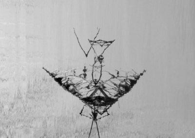 Nasse de Loire N°1, digigraphie – 2018