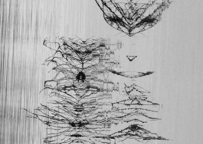 Signes de Loire, digigraphie – 2018
