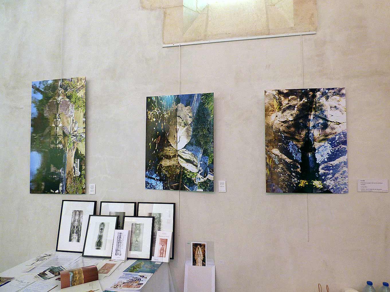 Mauves sur Loire Chapelle Alice Guilbaud expo François Chauvin